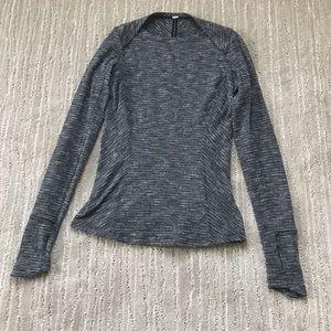 LULULEMON SHIRT!!! Grey and long sleeve